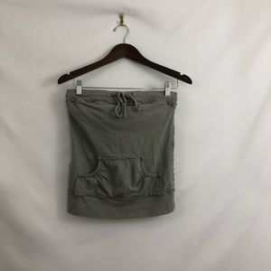 Mossimo Gray Grey Tube Top Size Small